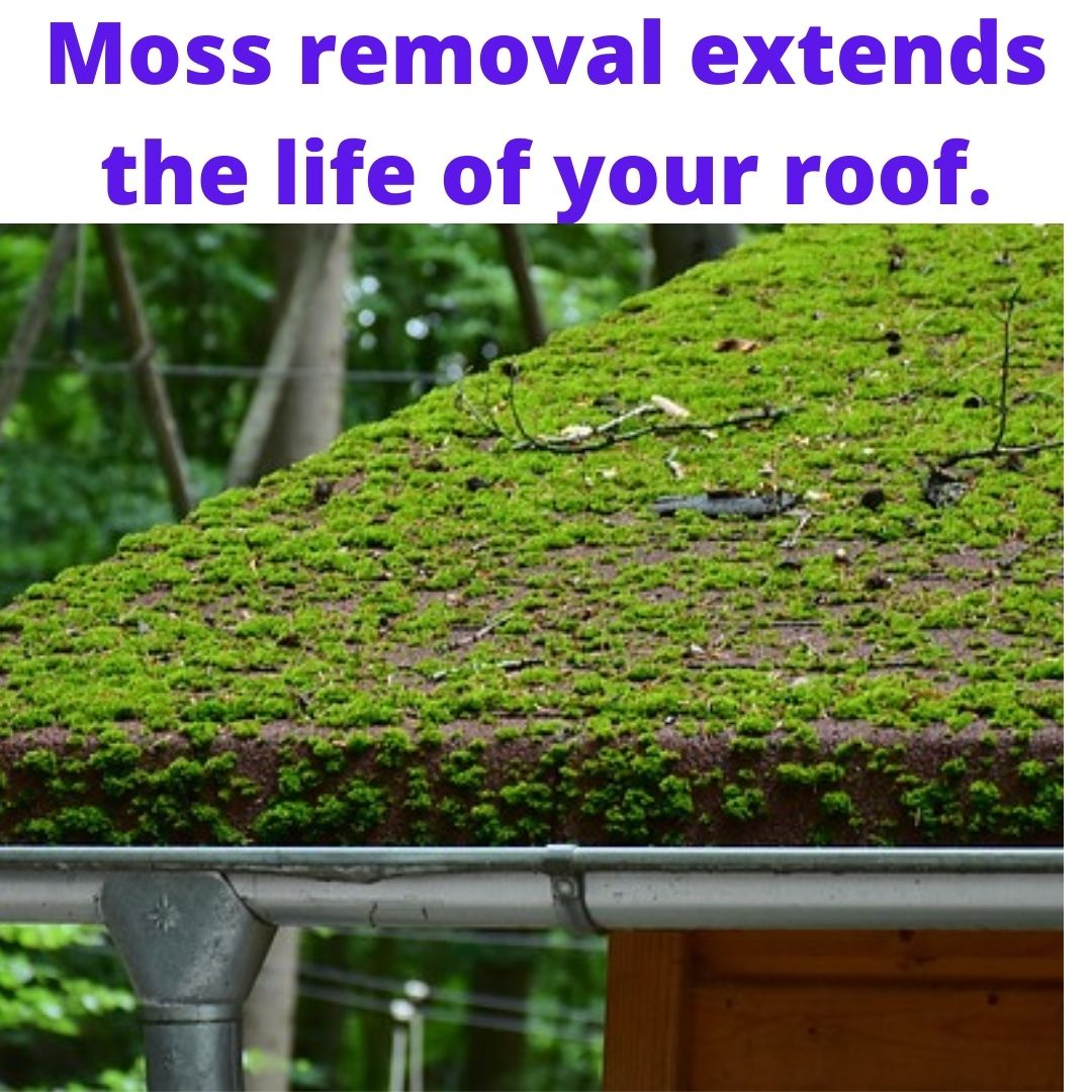 Roof Demossing and Cleaning
