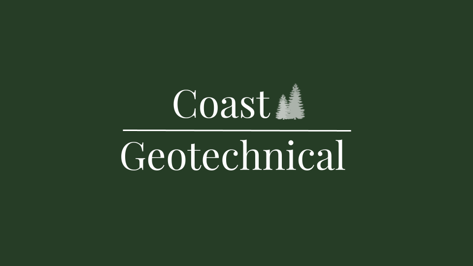 Coast Geotechnical Logo and business cards