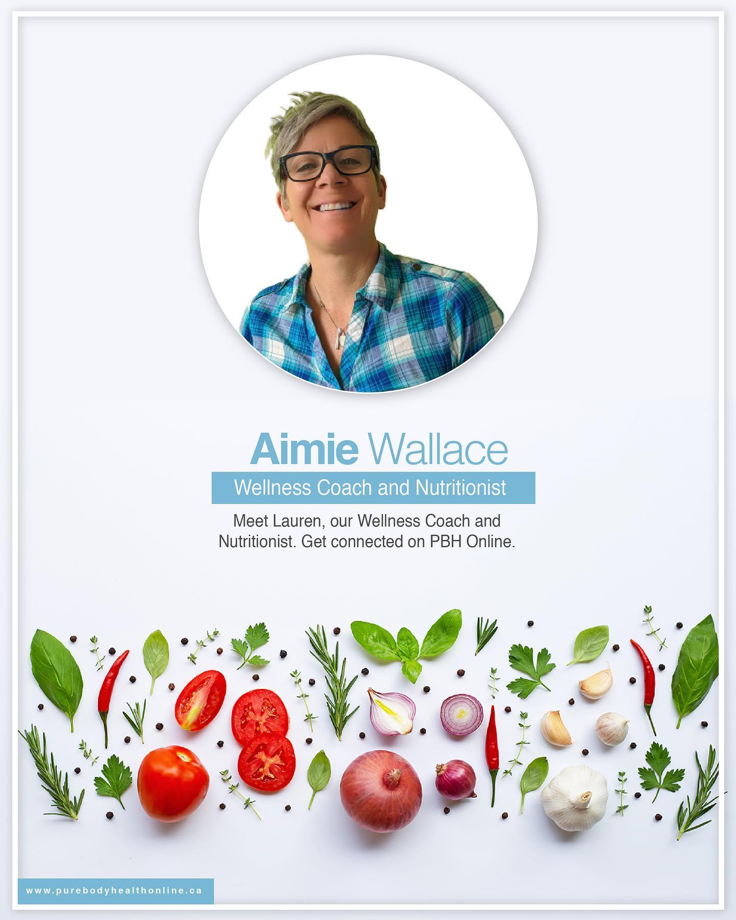 Aimie Wallace- Nutritionist