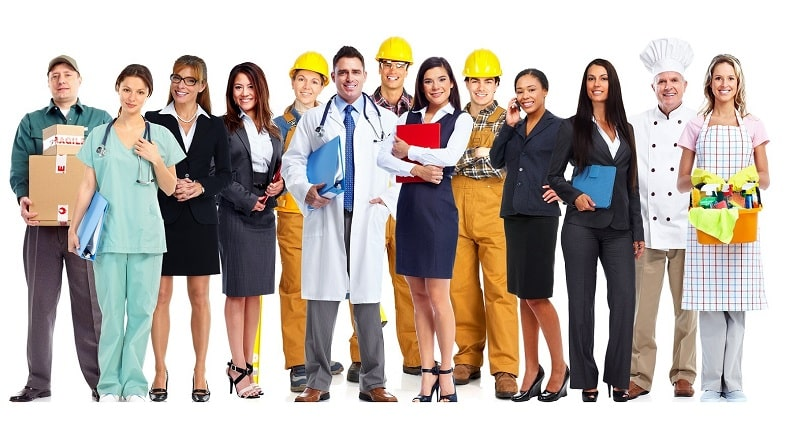 Canadian Business Directory Network - Image of professional service people.